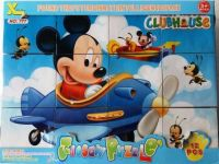 Mickey Mouse Clubhouse - Cube Puzzle - 12 pieces