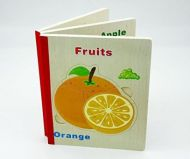 6 Wooden Puzzle Book - Fruits